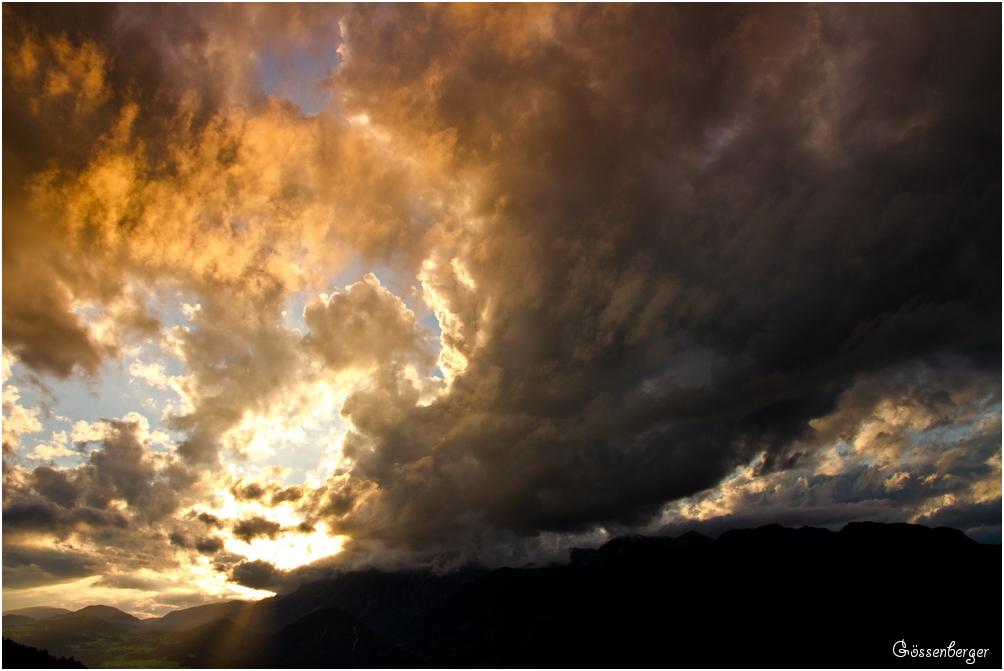Ein Sommer (Wolkentag) in den Bergen 69