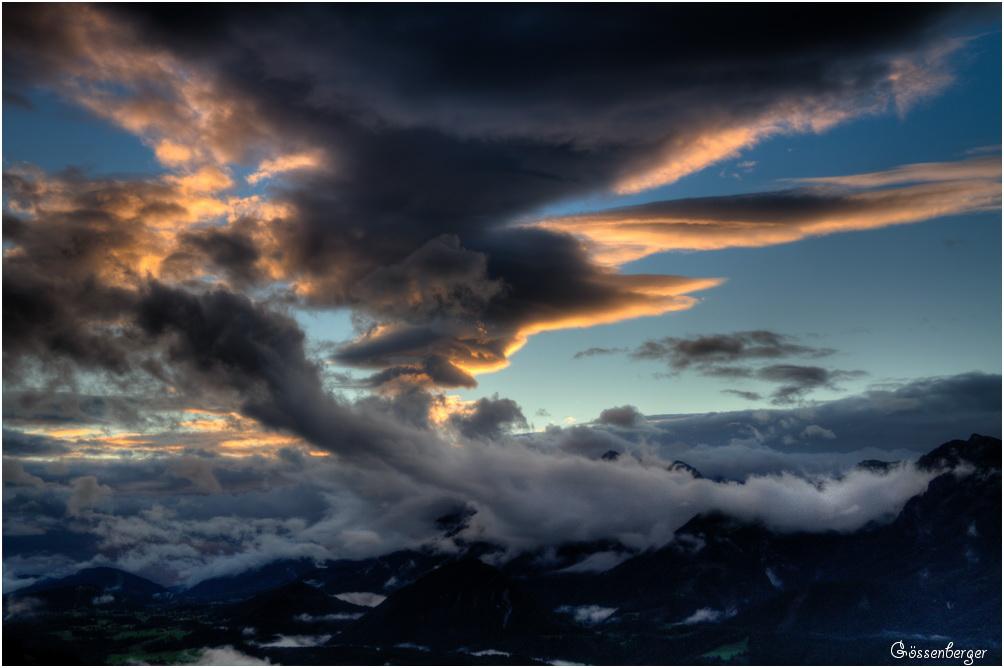 Ein Sommer (Wolkentag) in den Bergen 71