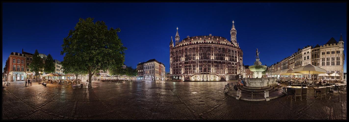 Ein Sommerabend in Aachen