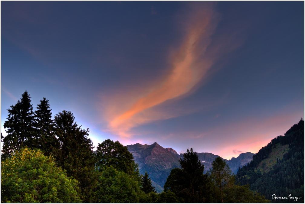 Ein Sommer(Abend) in den Bergen 58