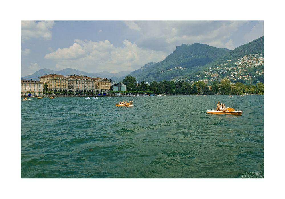 Ein Sommertag in Lugano