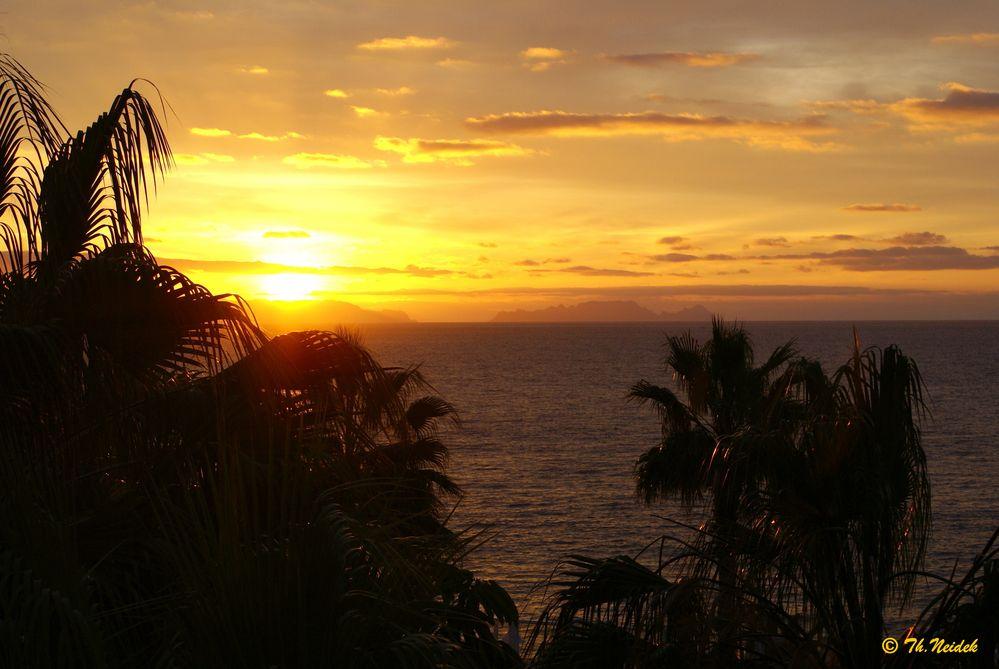 Ein Sonnenaufgang auf Madeira
