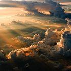 Ein Sonnenaufgang aus Pilotensicht...