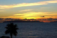 Ein Sonnenaufgang von Madeira