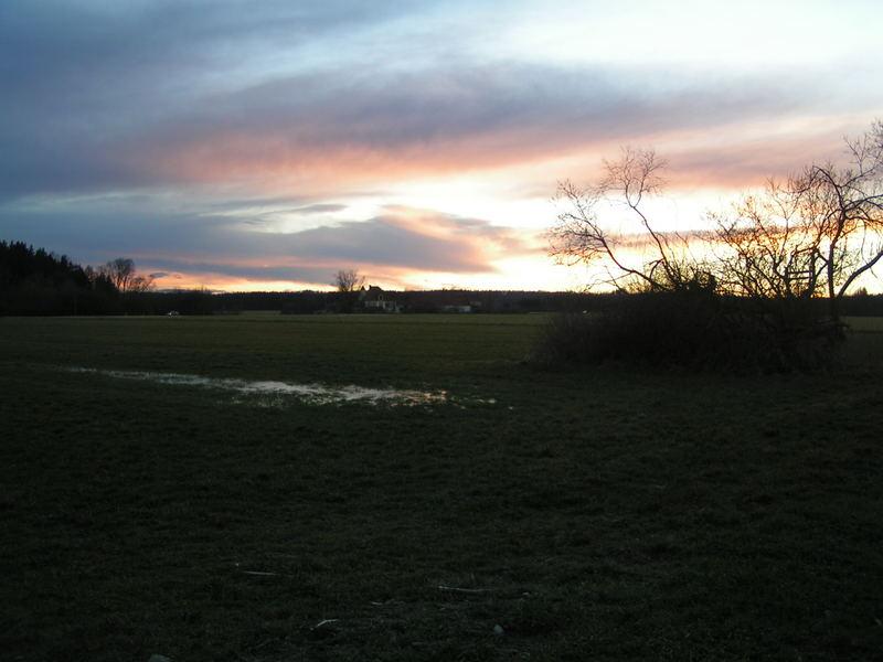 Ein Sonnenuntergang