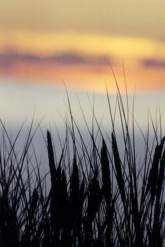 Ein Sonnenuntergang mal anders.....