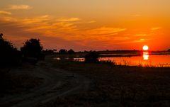 Ein Sonnenuntergang zum Träumen...