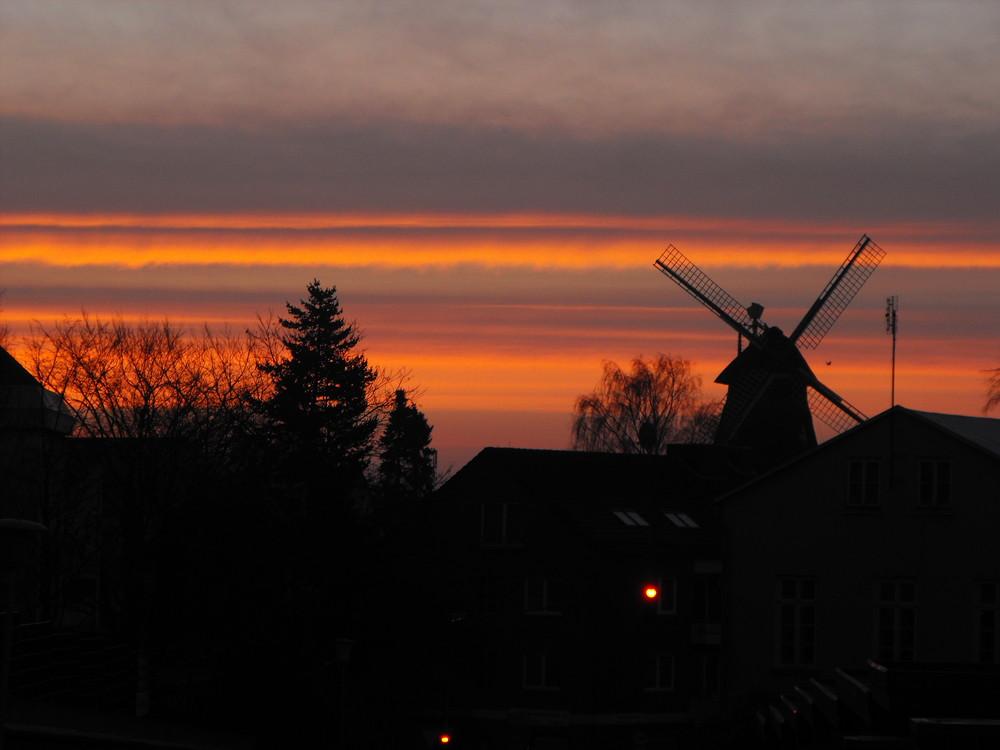 Ein Sonntagmorgen im kalten Januar in Eutin