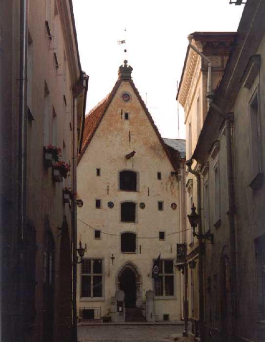 Ein Speicherhaus in der Altstadt von Tallinn