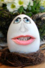 Ein sprechendes Ei