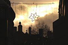 Ein Stern am Himmel