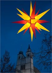 Ein Stern über der Stadt