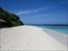 Ein Strand ...