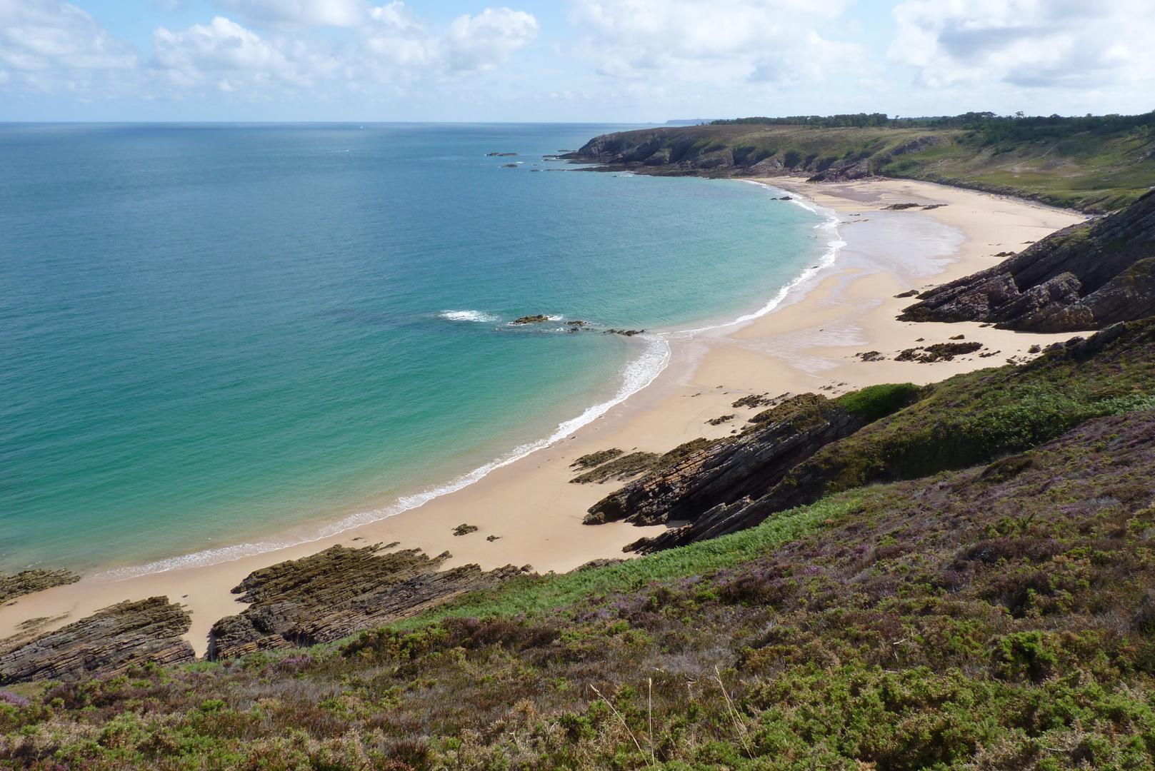 Ein Strand bei Cap Erquy