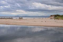 ein Strand in Schottland