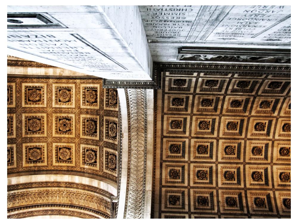 ein Stück Arc de Triomphe