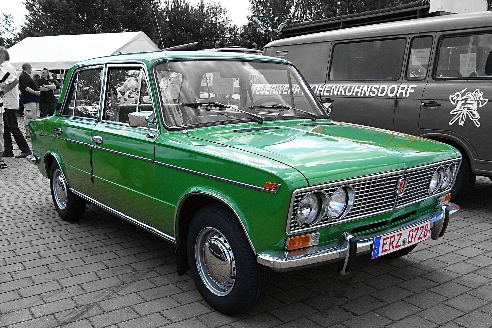 ein Stück DDR-Geschichte - Lada 2103