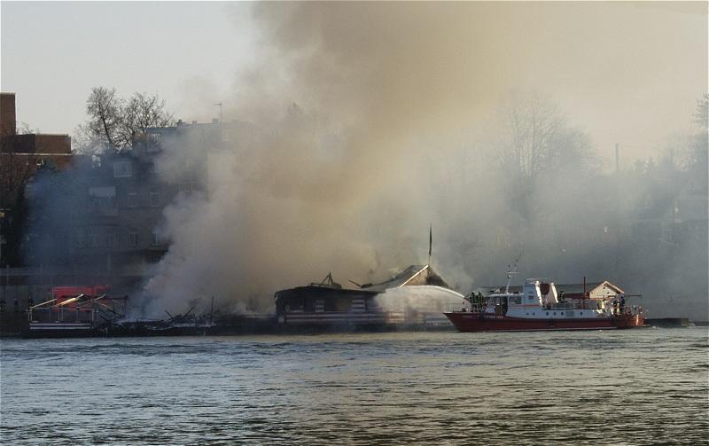 Ein Stück Köln ist abgebrannt
