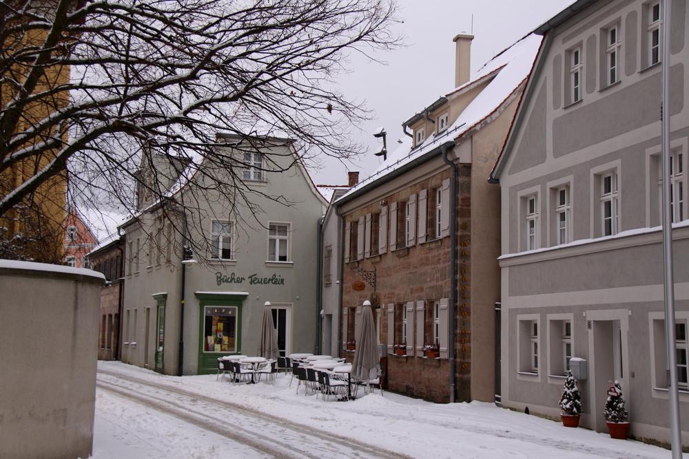 Ein Stück winterliche Innenstadt von Roth