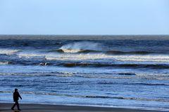 Ein stürmischer Tag am Meer 2