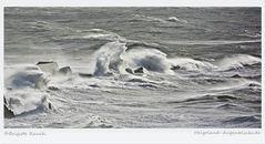 Ein Sturm jagt den nächsten . . . .