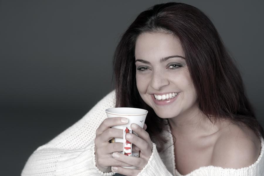 ein süßes Lächeln