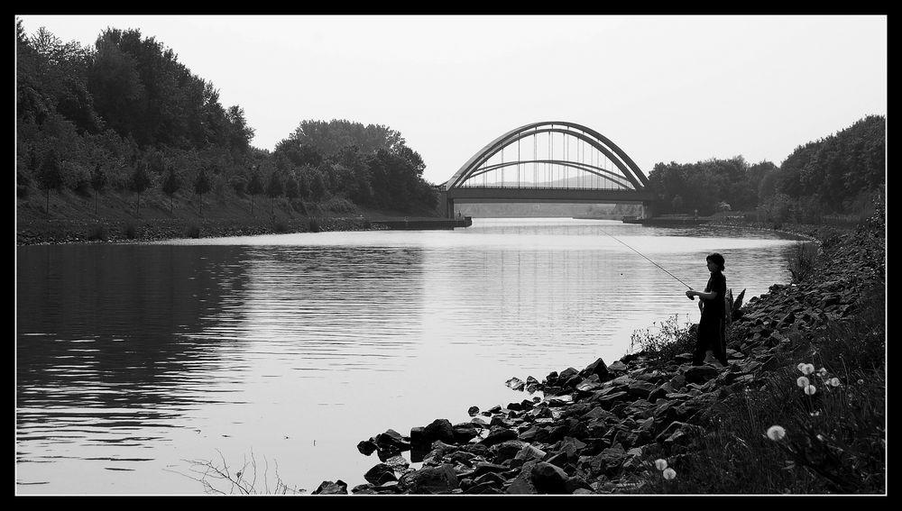 Ein Tag am Kanal