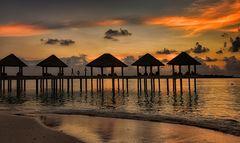 Ein Tag verneigt sich -  Maldives  -