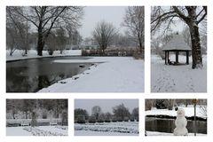 Ein Tag Winter in Heilbronn