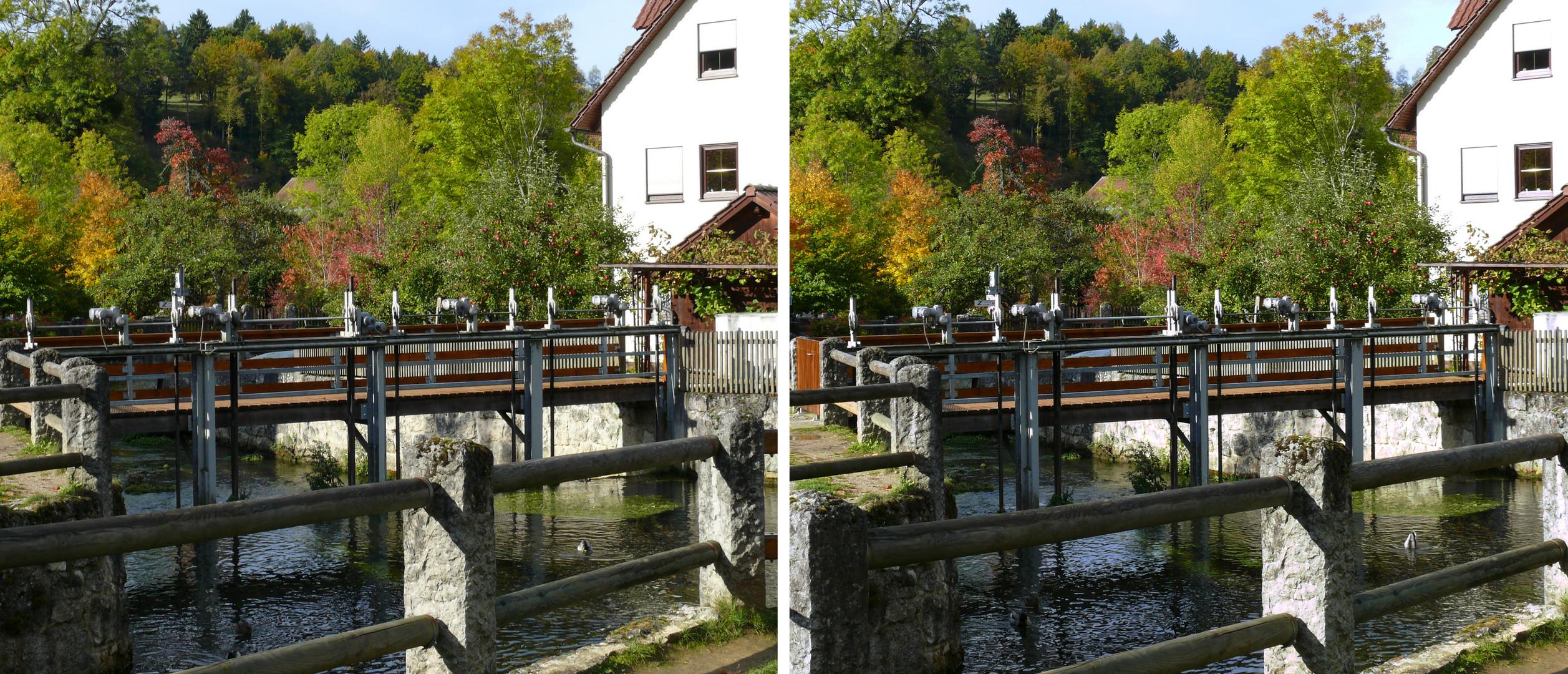 Ein Teil der Fränkischen Schweiz in 3D