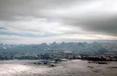 Ein Teil der Schweizer Alpen
