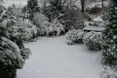 Ein Teil unseres Gartens heute ...