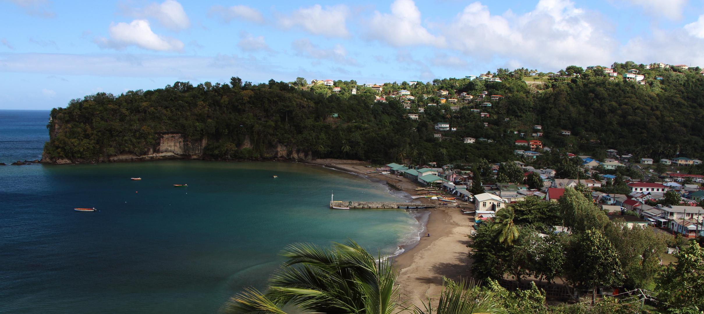 Ein Teil von St. Lucia