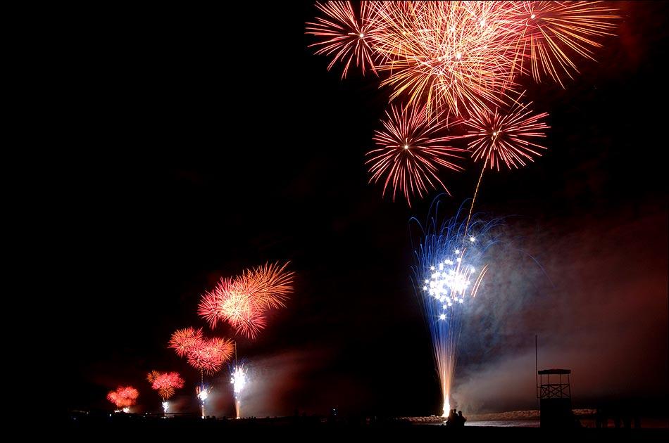 Ein Traum, 12 km Feuerwerk