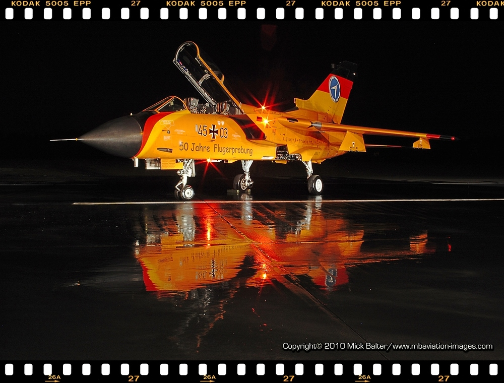 *** Ein Traum in orange... FLIGHT TEST Tornado - Manching ***