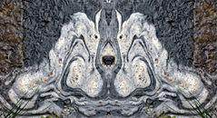 Ein Traum vom Schaum! - Une oeuvre d'art faite de mousses et de pollens...