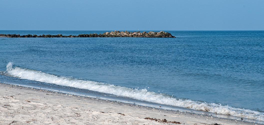 Ein traumhafter Blick übers Meer ...