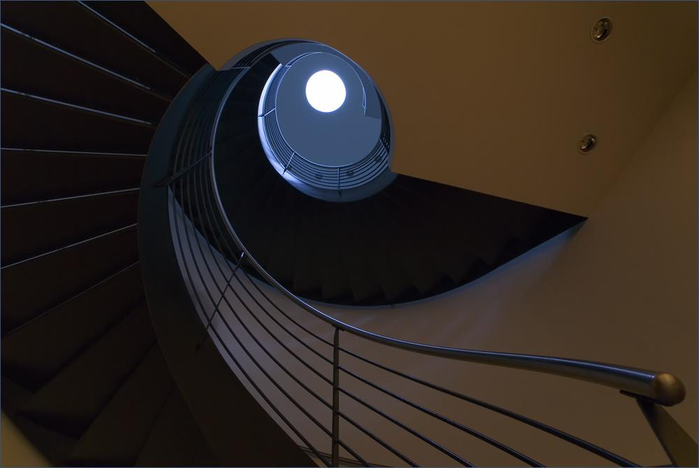 Ein Treppenhaus