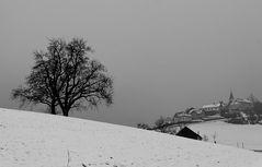 Ein trüber Wintertag