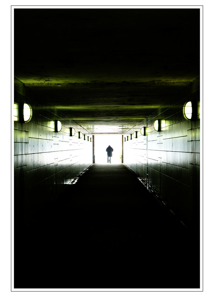 Ein Tunnel in Hamburg