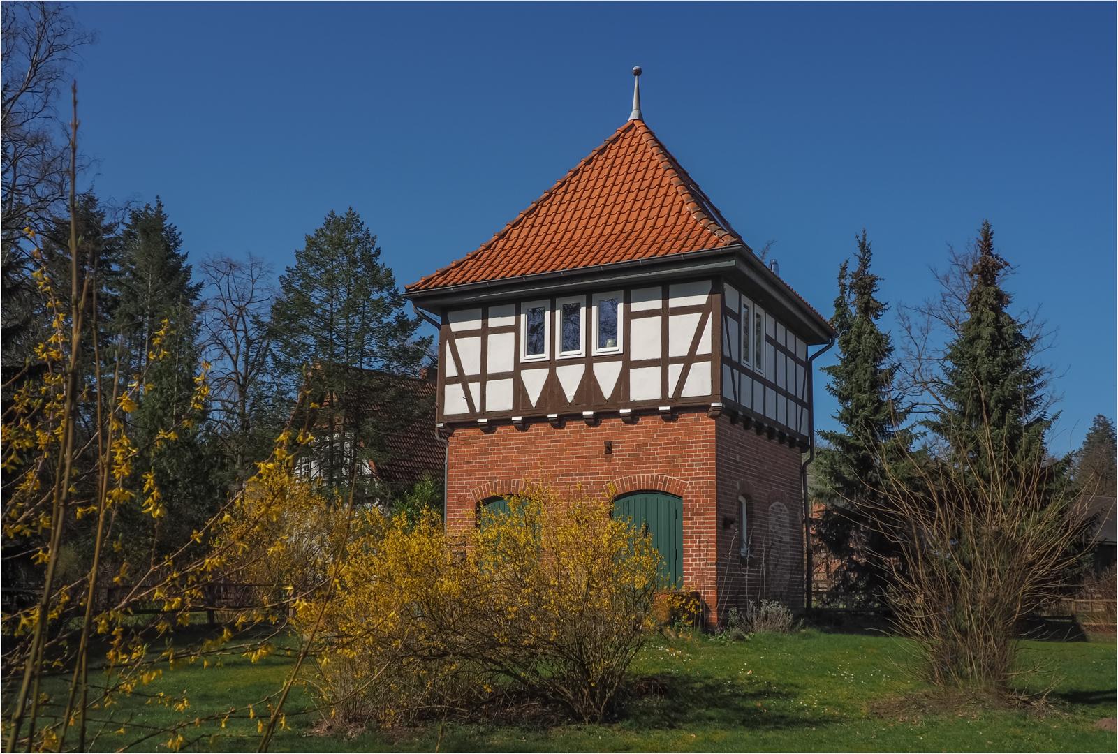 Ein Turmzimmer  auf  dem Land.......