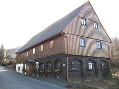 Ein Umgebindehaus in Waltersdorf
