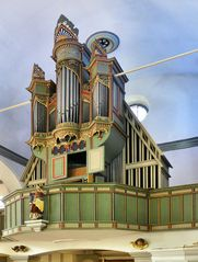 Ein ungewöhnliche Orgel