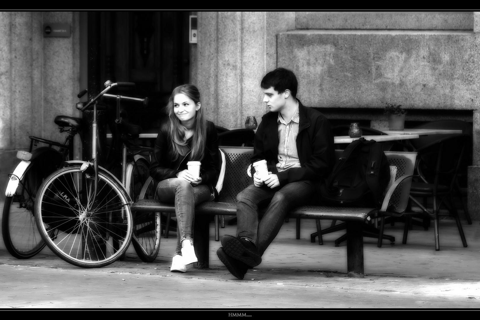 Ein Unmoralisches Angebot Foto Bild Street Menschen
