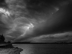 Ein Unwetter zieht auf....