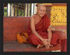 Ein verschmitzter Mönch