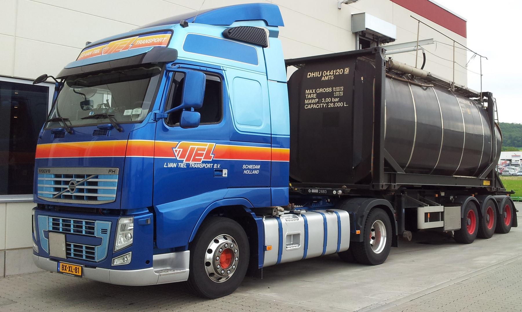 Ein Volvo FH