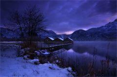 Ein vorweihnachtlicher Winterabend
