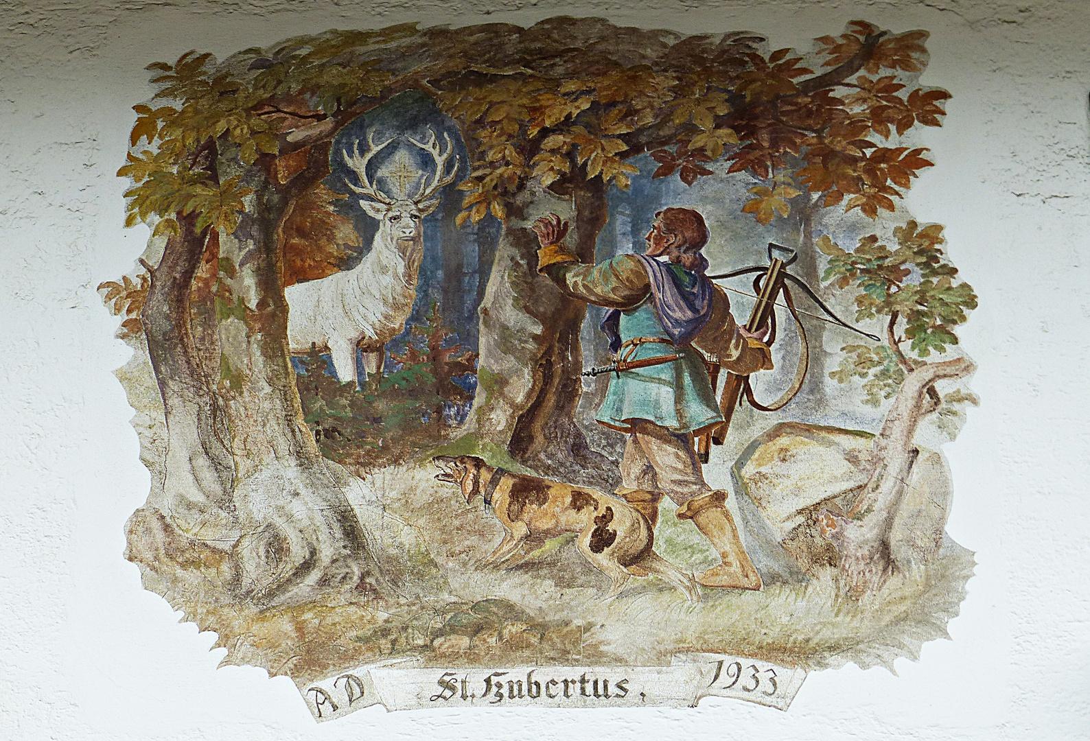 Ein Wandbild von 1933