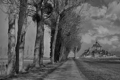 Ein Weg zum Mont Saint Michel....